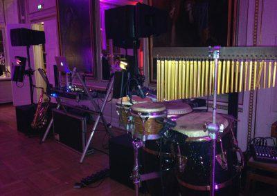 dj bailar setup Holckenhavn Slot